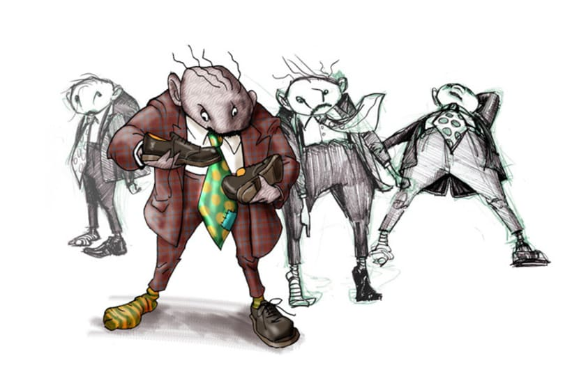 Mr. Shoeless 2