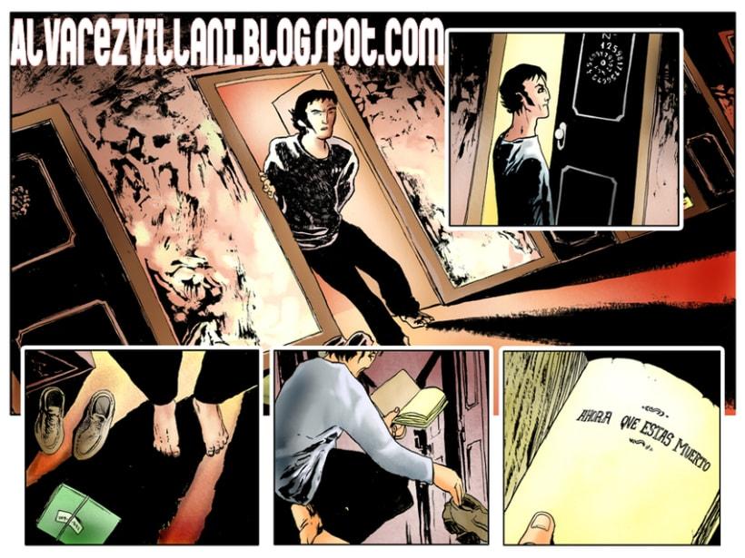 Páginas de Novela gráfica 4