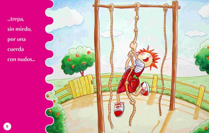 Cuento Infantil Leh en el parque 2