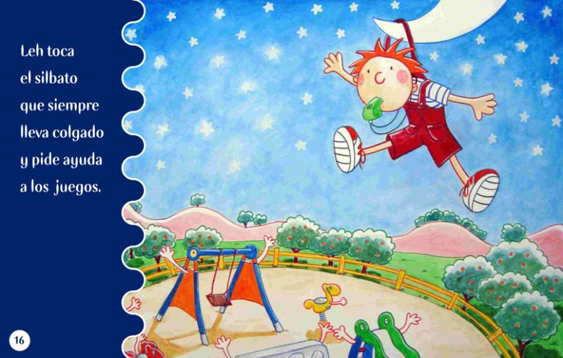 El Baño Cuento Infantil:Cuento Infantil Leh en el parque