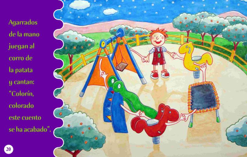 Cuento Infantil Leh en el parque 8