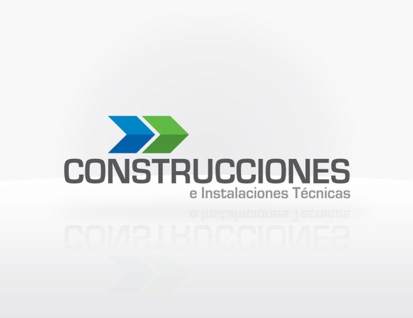 Logos domestika for Empresas constructoras