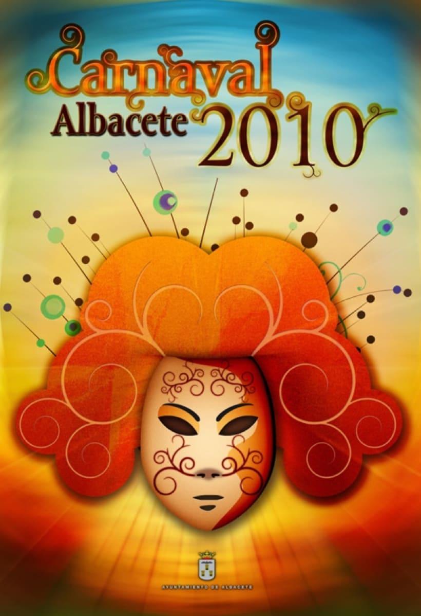 Cartel Carnaval Albacete 2010 1