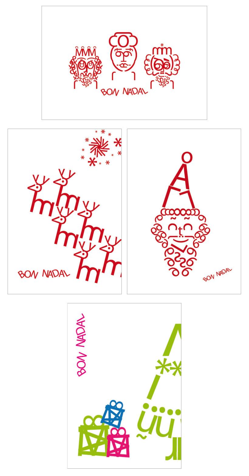 Postales navideñas BCN 1