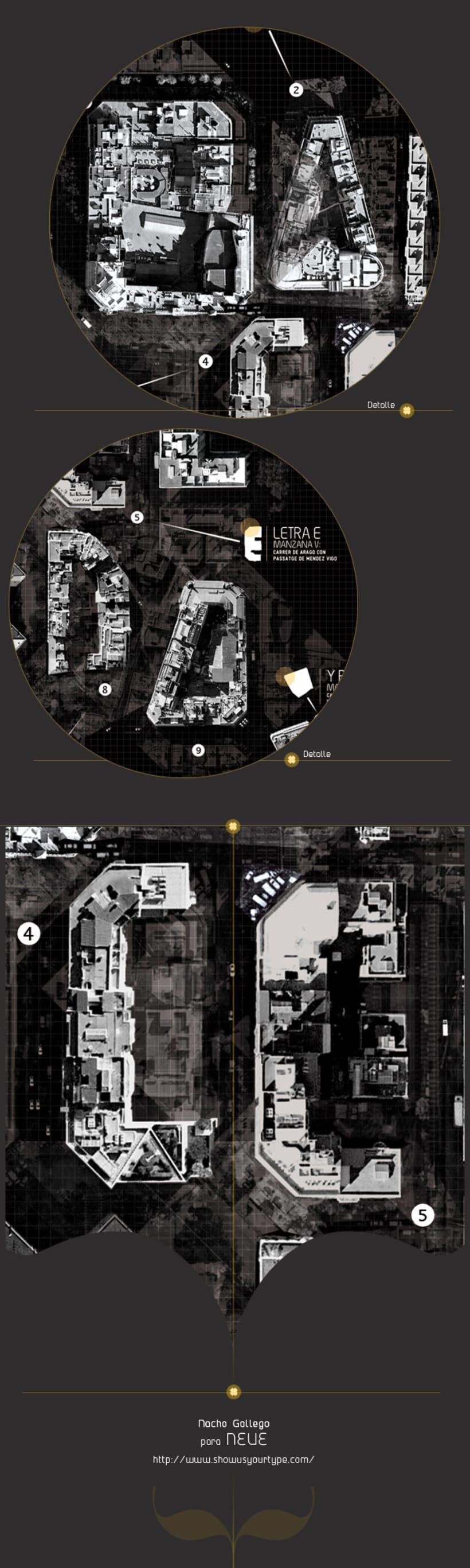 TypoStreetGrid : BCN 3