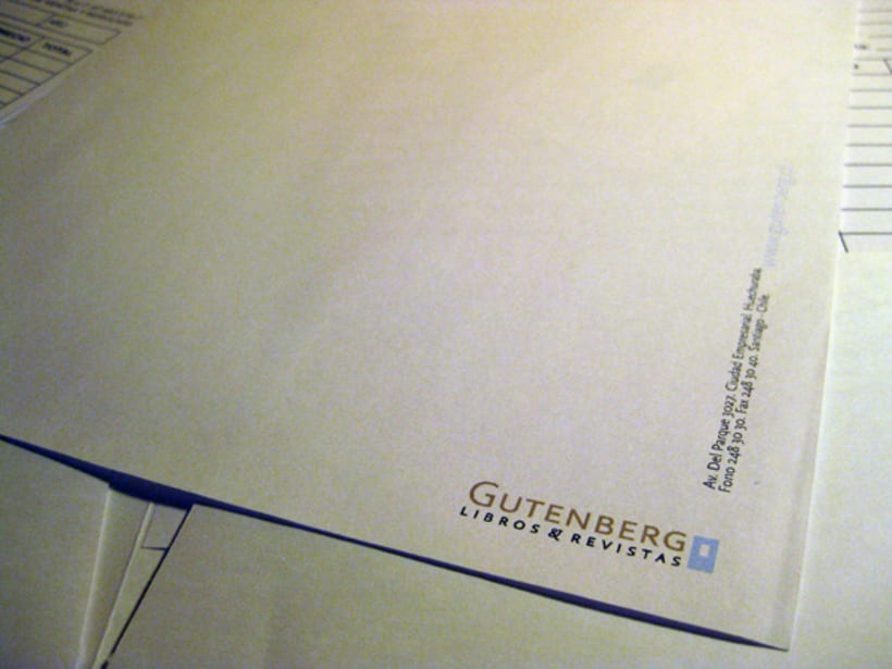 Papelería Gutenberg 8