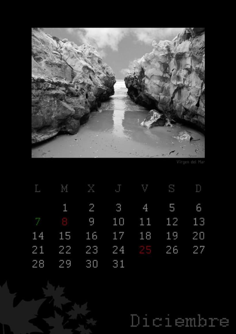 Calendario playas cántabras 2009 13