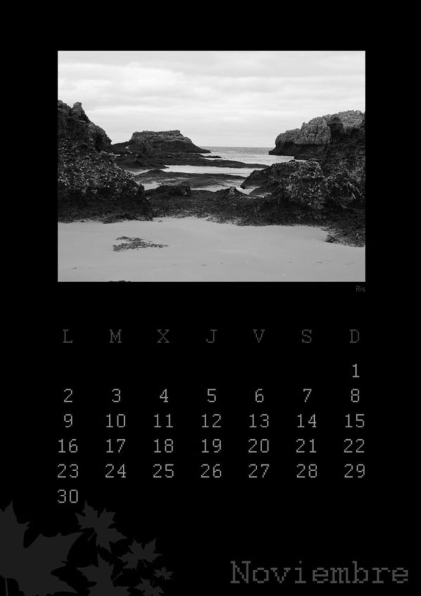 Calendario playas cántabras 2009 12