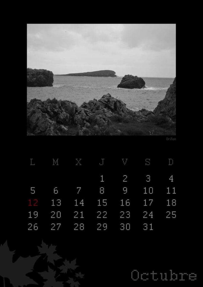 Calendario playas cántabras 2009 11