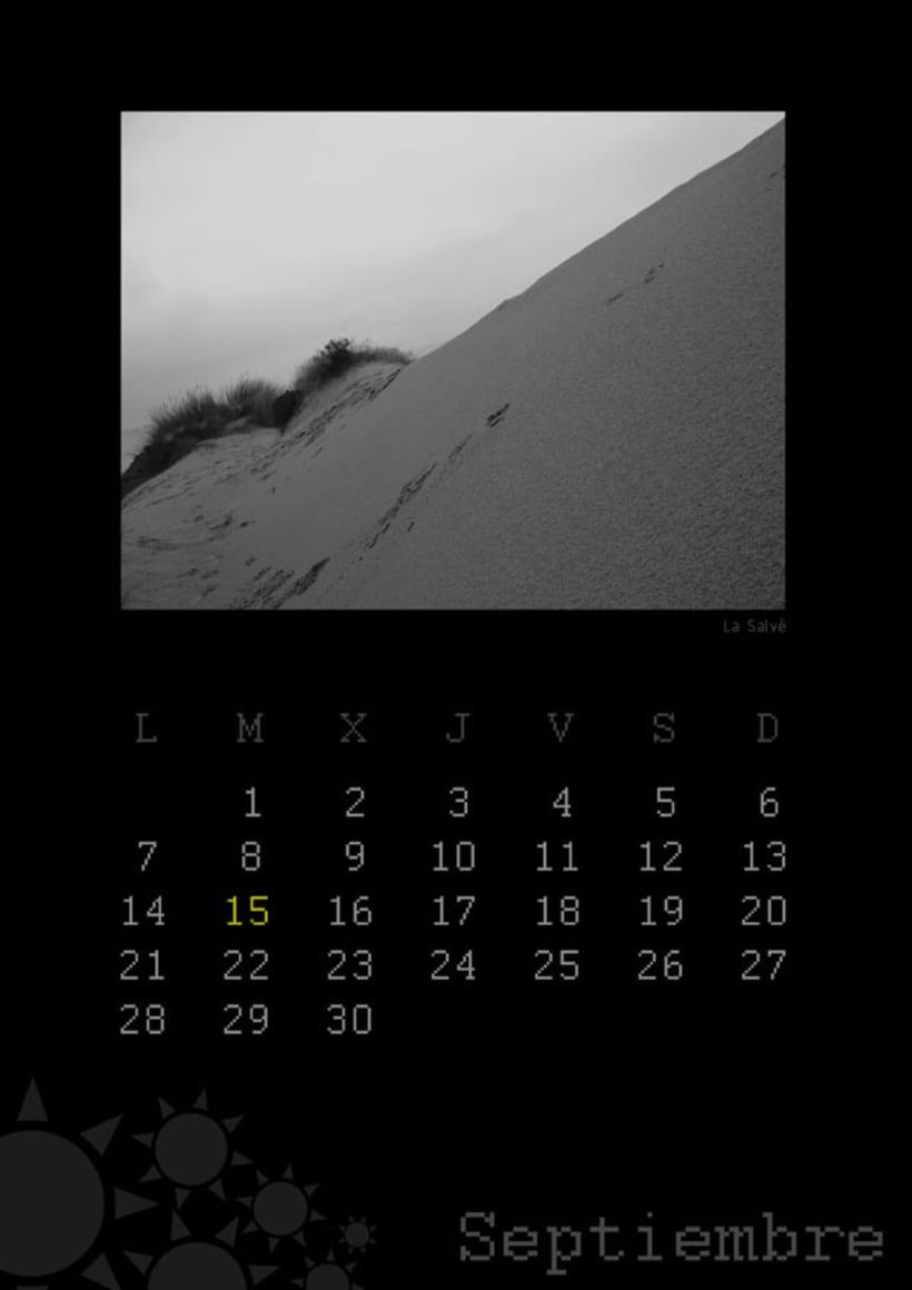 Calendario playas cántabras 2009 10