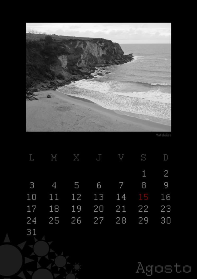 Calendario playas cántabras 2009 9