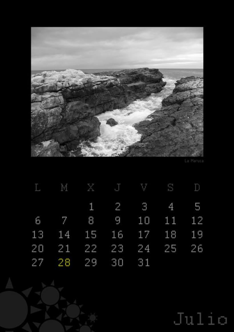Calendario playas cántabras 2009 8