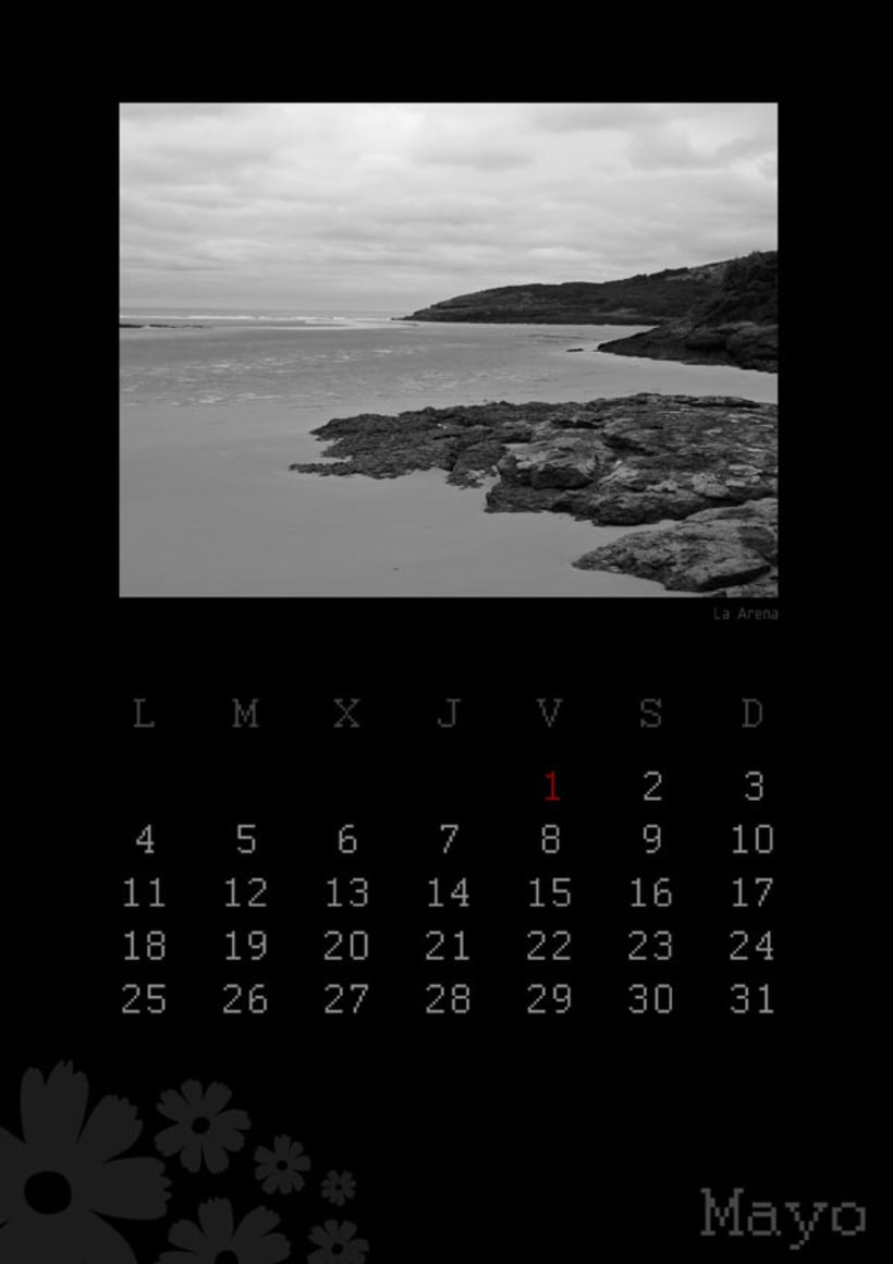 Calendario playas cántabras 2009 6