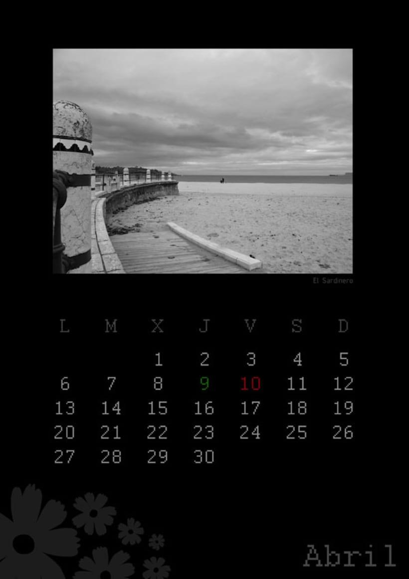 Calendario playas cántabras 2009 5