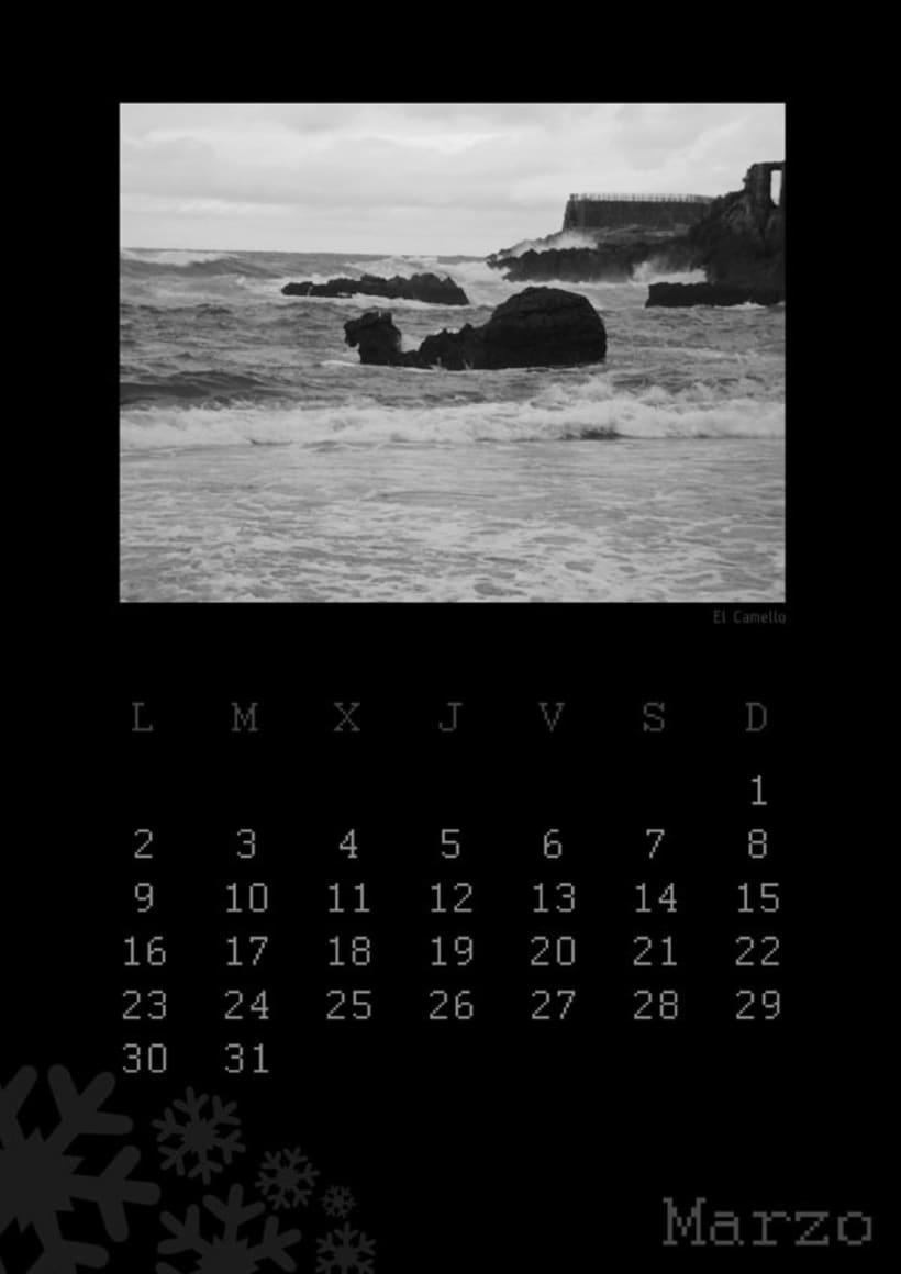 Calendario playas cántabras 2009 4