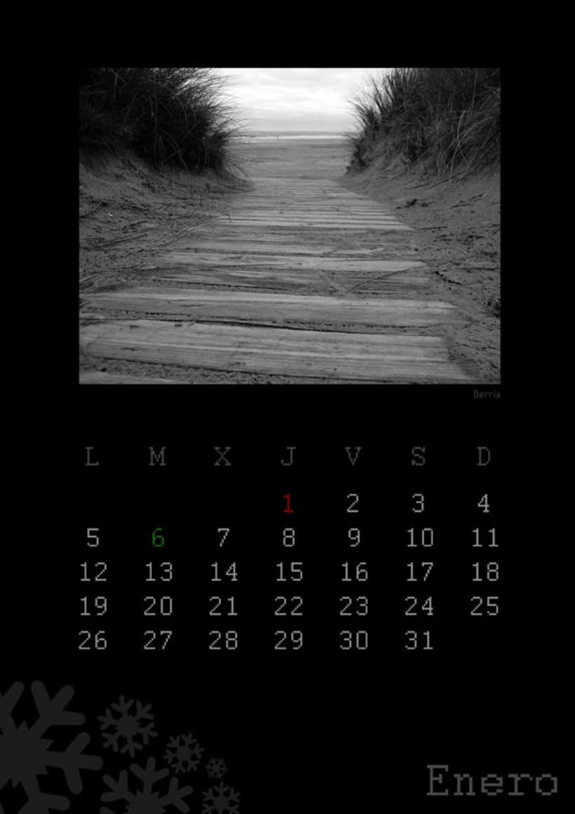 Calendario playas cántabras 2009 2