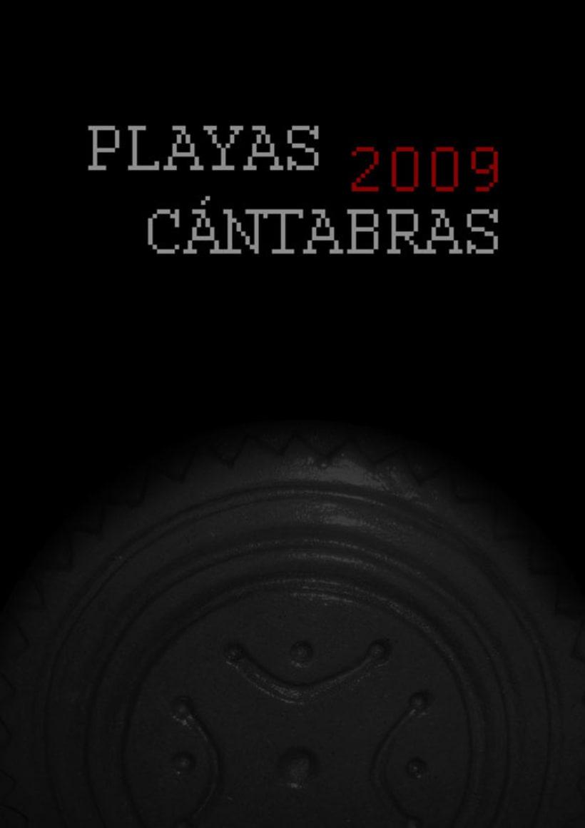 Calendario playas cántabras 2009 1