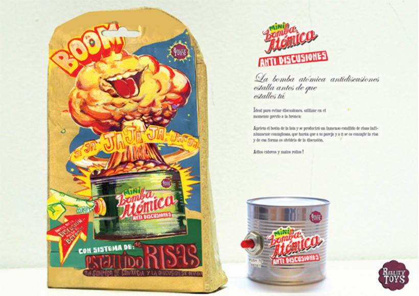 Mini Bomba Atómica Antidiscusiones 4