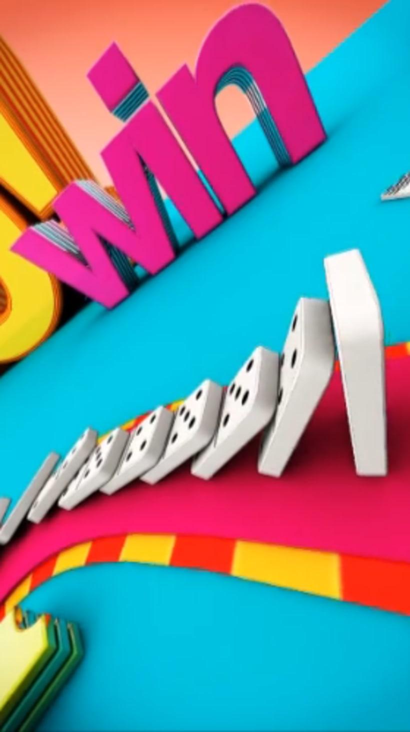 Domino Fun!  3