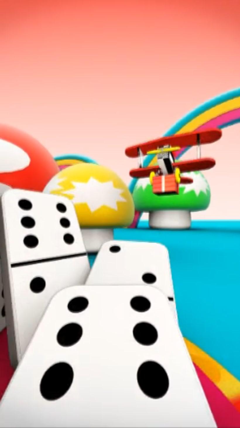 Domino Fun!  4