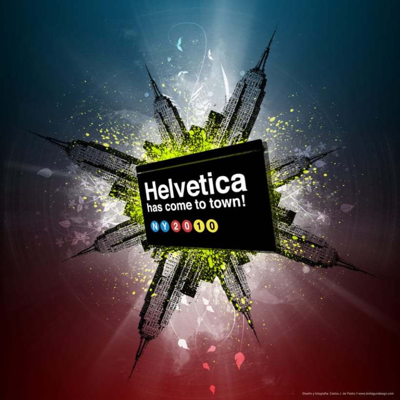 Helvetica has come to town! 1