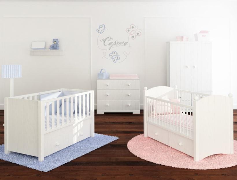 Interiores para el palacio del beb domestika - Palacio del bebe ...