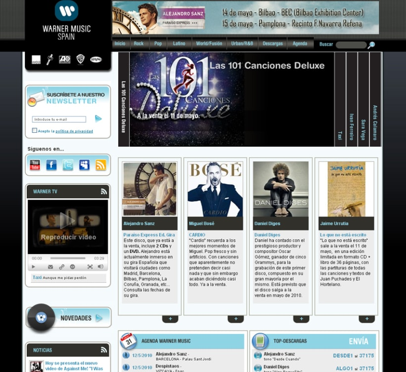 Warner Music España 1
