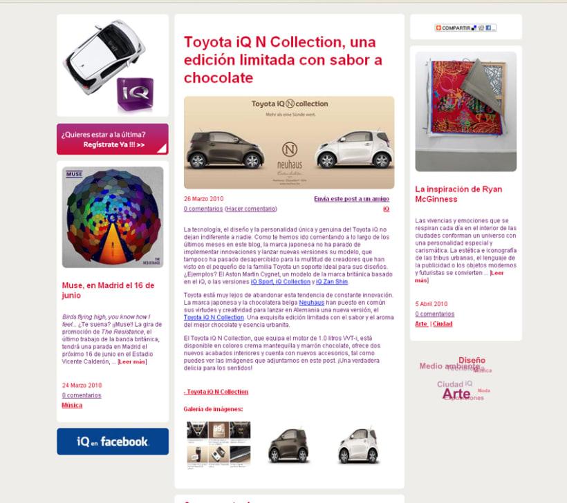 Blog Toyota iQ 3