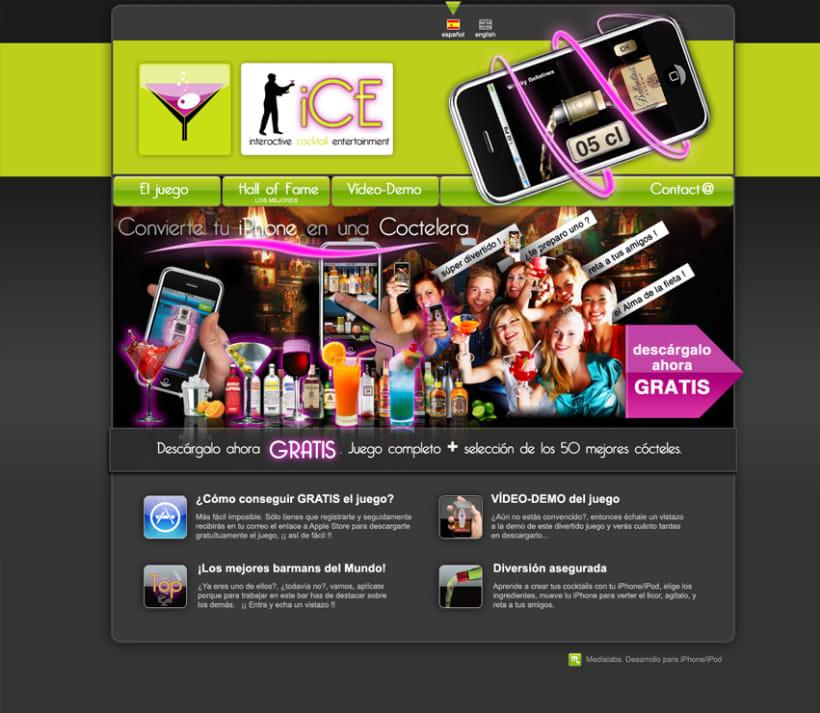 iCE, juego para iPhone 4