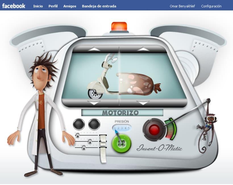 Invent-O-Matic, juego para Facebook 2