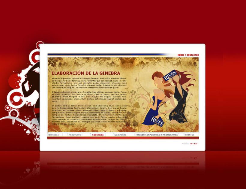 Página web Rives y diseños corporativos 11