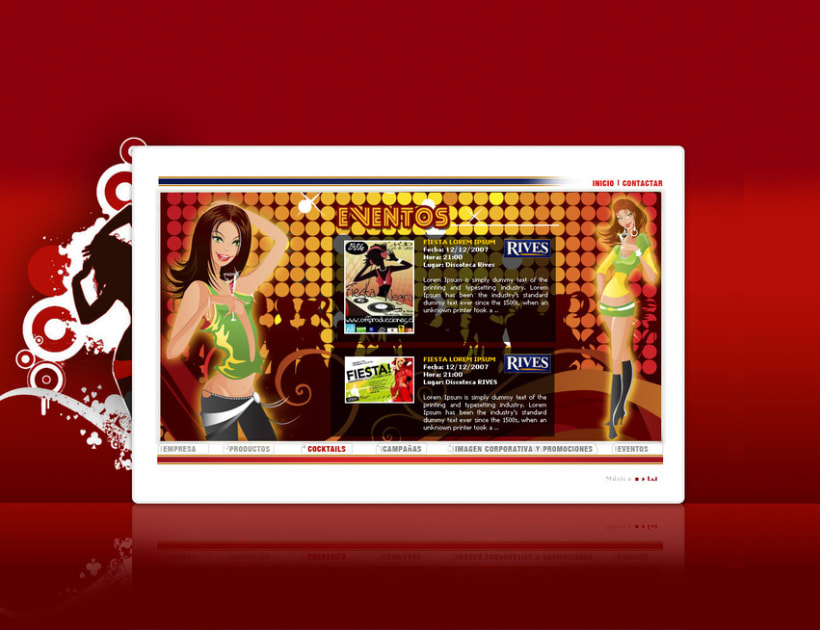 Página web Rives y diseños corporativos 16