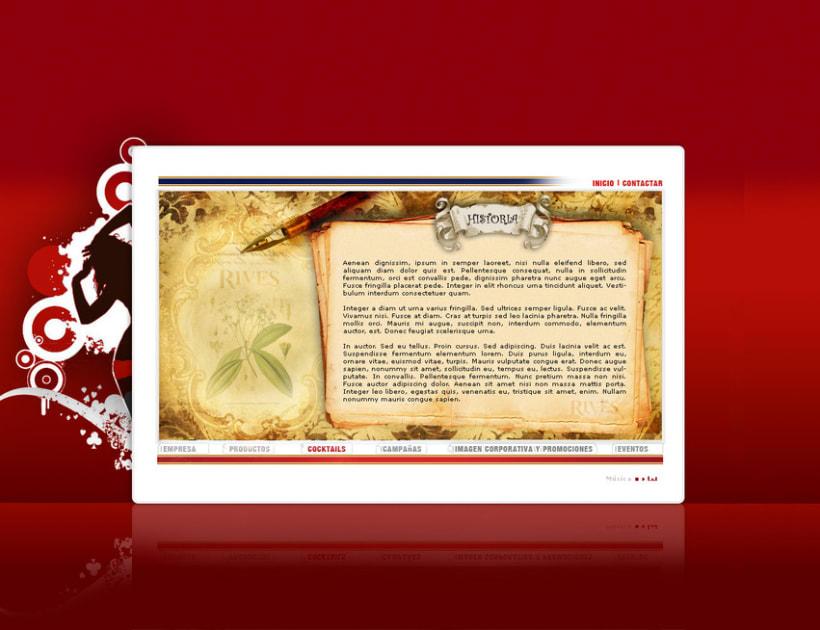 Página web Rives y diseños corporativos 13