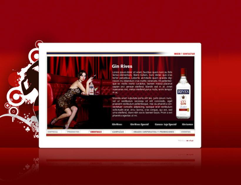 Página web Rives y diseños corporativos 6