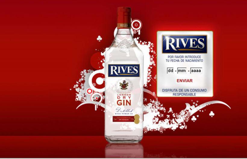 Página web Rives y diseños corporativos 2