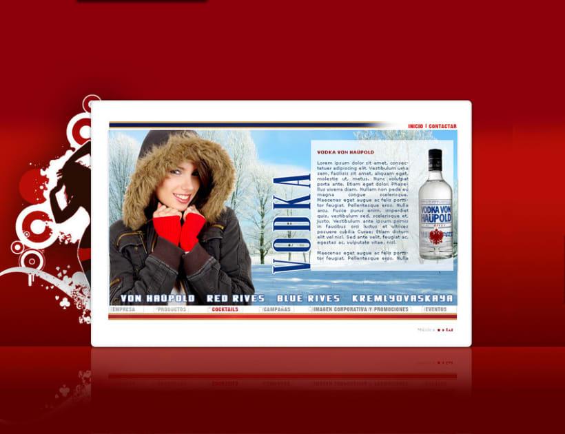 Página web Rives y diseños corporativos 5