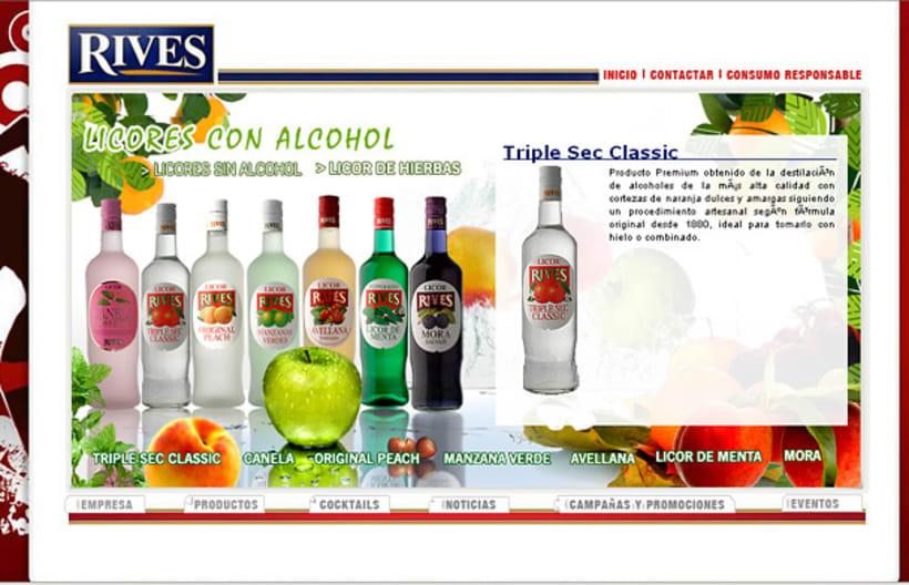Página web Rives y diseños corporativos 15
