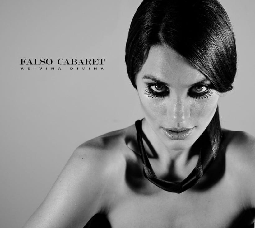 """Portada """"Falso Cabaret""""( disco ep de 5 canciones) 2"""