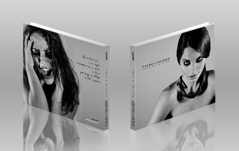"""Portada """"Falso Cabaret""""( disco ep de 5 canciones) 3"""