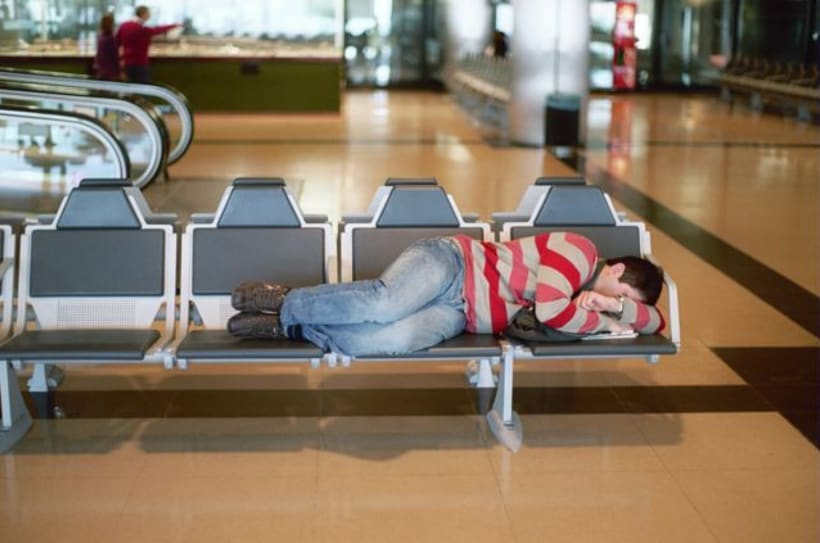 Aeropuerto, la espera. Time measures at the airport. 14