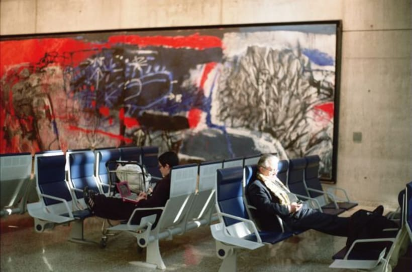 Aeropuerto, la espera. Time measures at the airport. 3