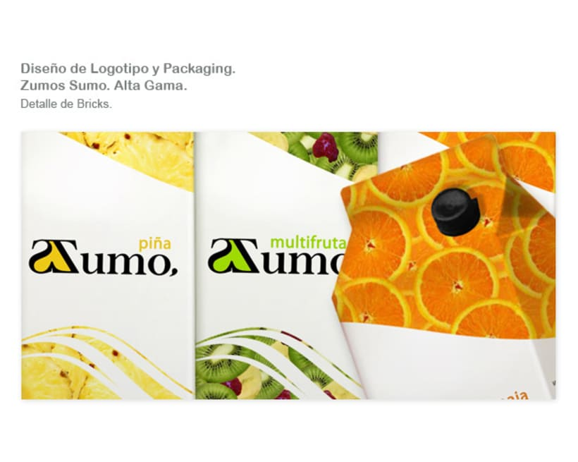 Packaging Zumo Sumo. Alta Gama. 8
