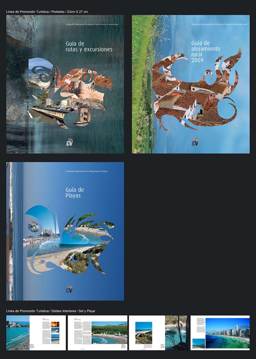 Colección catálogos para Turismo de la Generalitat Talenciana 3