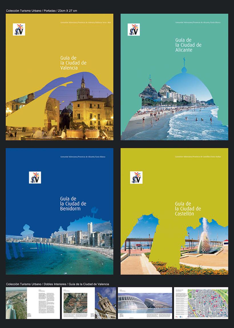 Colección catálogos para Turismo de la Generalitat Talenciana 7