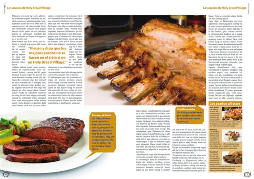 Revista Cocina | Reportaje Para Una Revista De Cocina Domestika