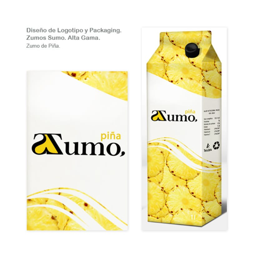 Packaging Zumo Sumo. Alta Gama. 5