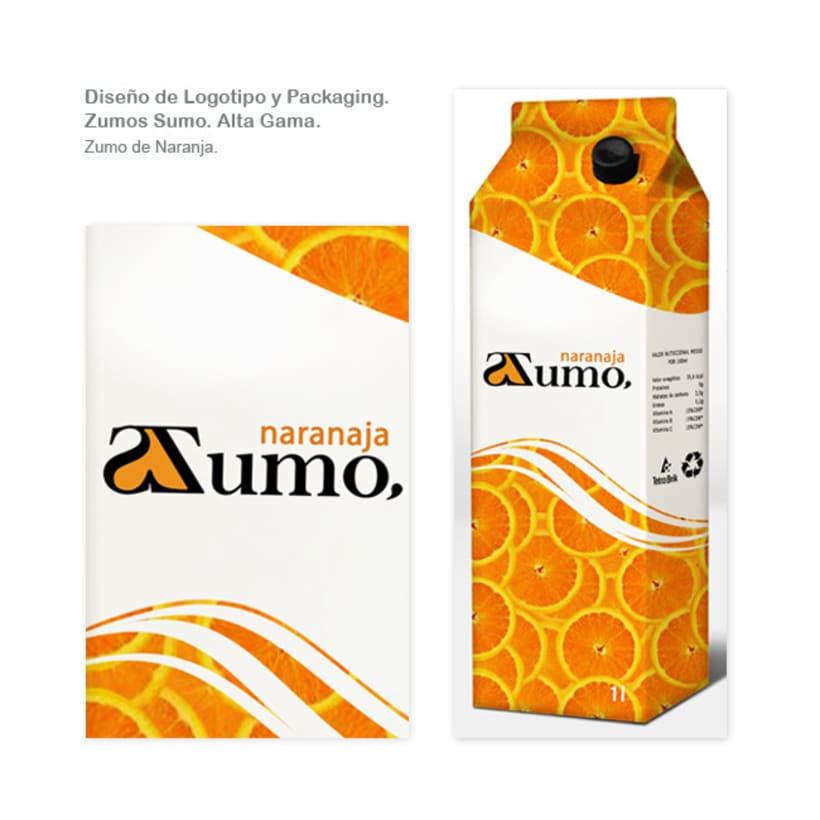 Packaging Zumo Sumo. Alta Gama. 3