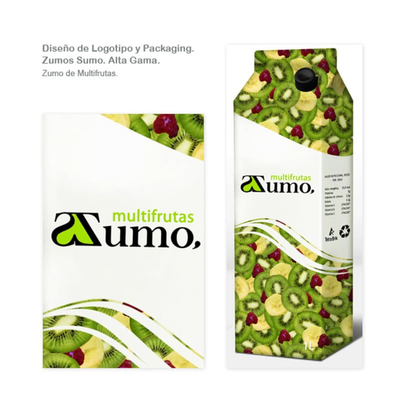 Packaging Zumo Sumo. Alta Gama. 7
