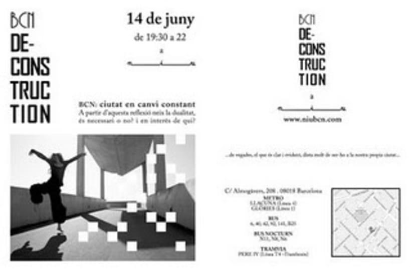 Proyecto artístico Bcn-deconstruction 2