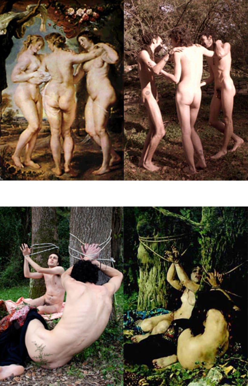 serie fotográfica. Desnudos 1